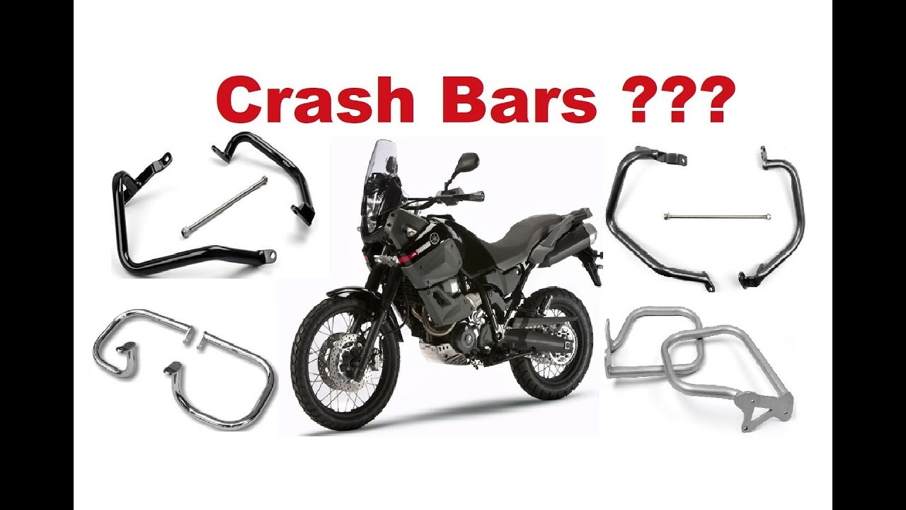 Motorcycle Crash Bars Protectors Are They Really Worth It