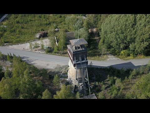 Dangerous mining area - Förby, Collapsed 1982 and Abandoned 2010
