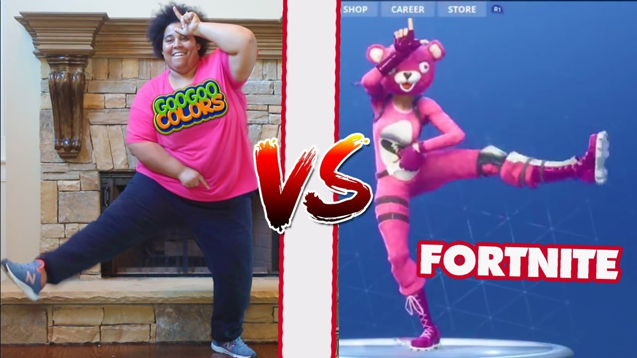 Fortnite Dance Challenge In Real Life All Dances Zz Kids