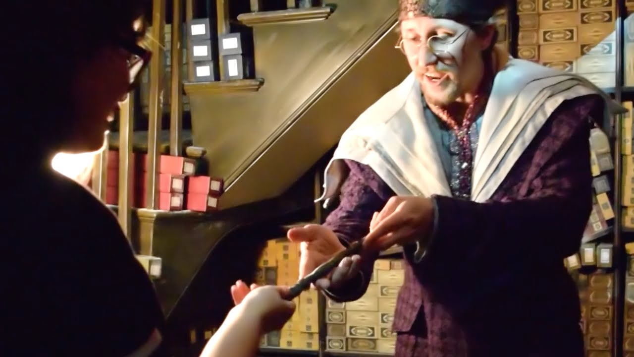 harry potter ollivander wands