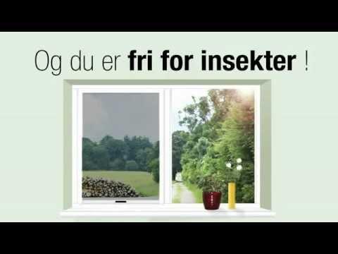 Af modish Insektnet til vinduer og døre - YouTube IR65
