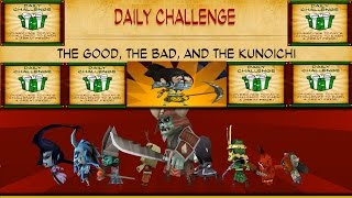 SvZ Defense 2 - Daily Challenge - THE GOOD, THE BAD, AND THE KUNOICHI