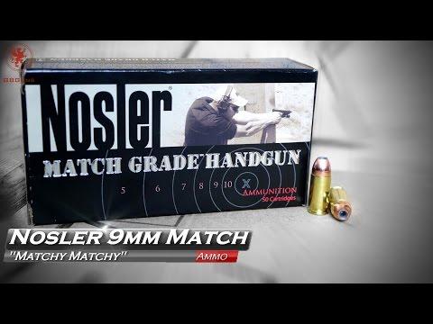 Nosler Match Grade Handgun Ammunition