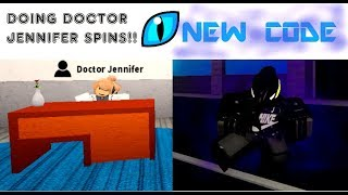 New Code! Doing Doctor Jennifer spins! [Boku No Roblox:Remastered]