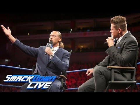 "Big Cass crashes ""Miz TV"": SmackDown LIVE, April 24, 2018"
