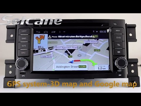 Seicane HD 2005-2013 Suzuki Vitara gps navigation bluetooth dvd support 3g wifi USB 32GB SD Card