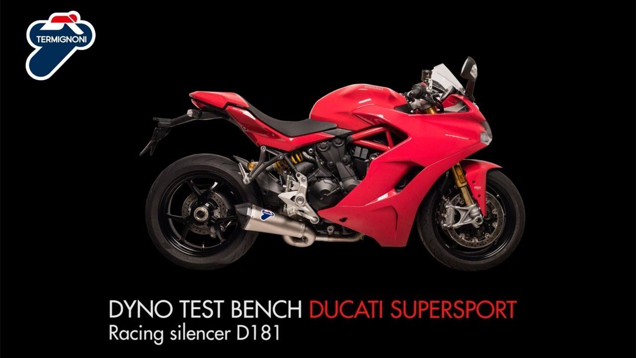 Termignoni - Racing silencer Ducati Supersport 939 2016-2018 - D181