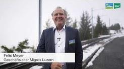Migros Luzern: Aus der Region. Für die Region Jubiläumsanlass 2019