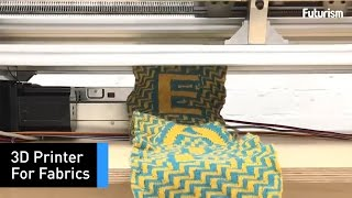 This Machine 3D Prints Knitted Fabrics