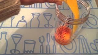 Faire un cocktail Pussyfoot jonhson - Cocktail sans alcool