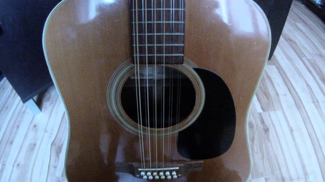 guitare 12 cordes accordage