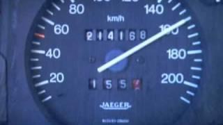 Zx turbo diesel accélération.