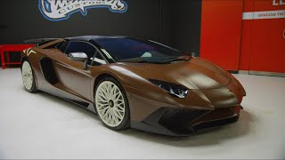 Travis Scott's New Lambo | Inside West Coast Customs
