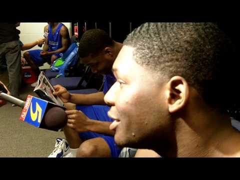 Adonis Thomas - 2012 NCAA Second Round Media Interview