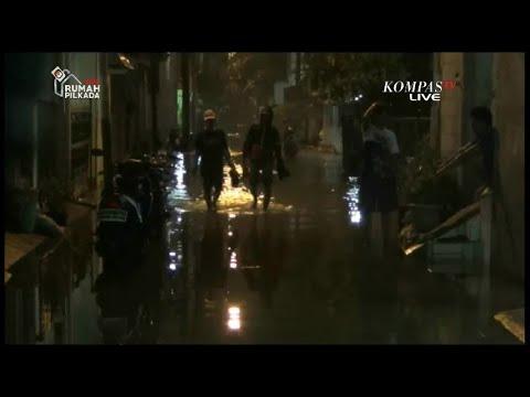 Kamis Malam, Banjir di Sejumlah Titik di DKI