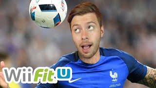 BUTS DE LA TÊTE COMME A L'EURO 2016 !! (Wii Fit #2)