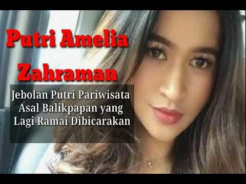 Profil Putri Amelia Zahraman Mantan Putri Pariwisata