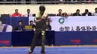 2012年全国武术套路锦标赛 男子长拳 037 王宏胤(上海)第四名