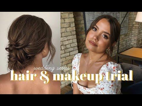 WEDDING SERIES: Hair & Makeup Trial thumbnail