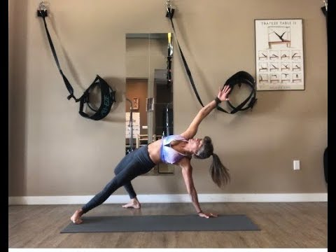 Athletic Mat Pilates Flow with Trainer Fiona Hermanutz