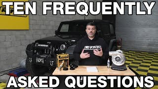 Top Ten Questions to RIPP Superchargers
