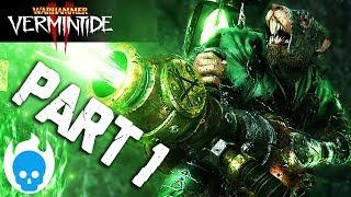 Vermintide 2 Gameplay Part 1 - EPIC FIRST RUN! BABY SNATCHERS! (PC Warhammer Vermintide 2)
