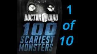 Doctor who 100 scariest monsters part 1 of 10