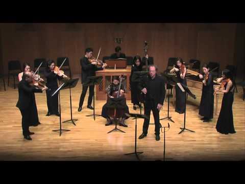 2015, Bach Cantata VII  Alessandro Marcello, Oboe Concerto in d minor 바흐솔리스텐 서울