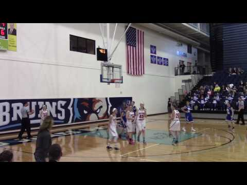 HCS Girls Basketball vs. Bob Jones Academy (BJU Tournament)