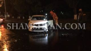 Երևանում՝ «Շանթ» գործարանի մոտ, բախվել են «07» ն ու Toyota Camry ն  կա վիրավոր