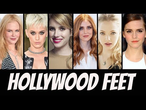 Top 50 - Hollywood Celebrity Feet