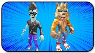 Roblox Rthro (Anthro) First Look - Ghoul Squad - Teen Wolf, Rockabilly Zombie Packs
