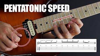 Pentatonic Speed - How To Get It Now