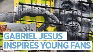 GABRIEL JESUS | Inspring kids in Sao Paulo | World Cup 2018