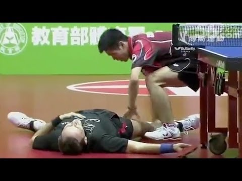 Thumbnail: The Funniest Table Tennis Match in HISTORY