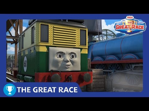 The Great Race: Philip of Sodor | The Great Race Railway Show | Thomas & Friends