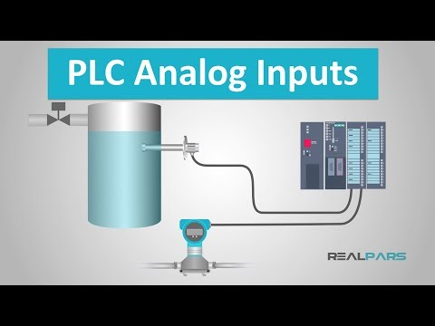 PLC Analog Inputs and Signals