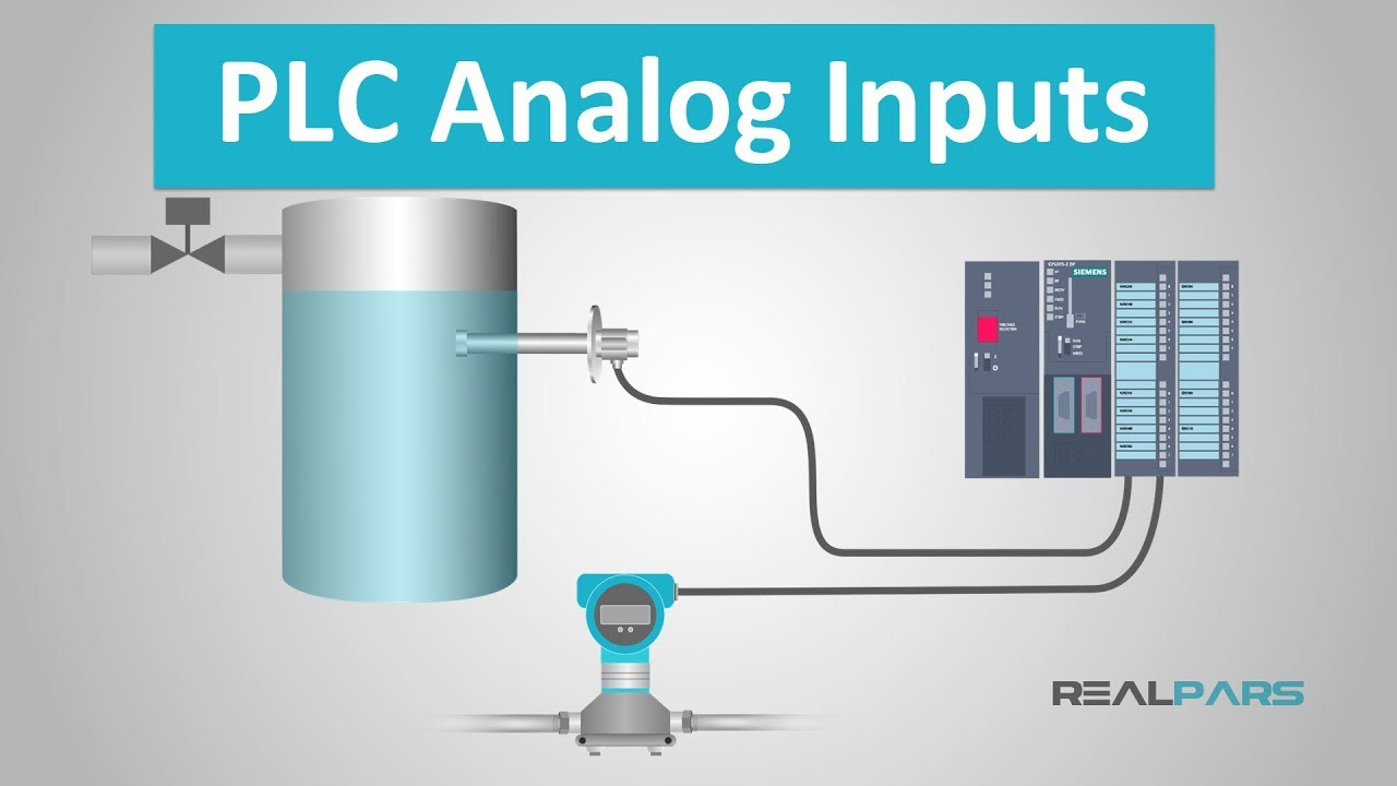 hight resolution of  realpars plc plcanaloginput