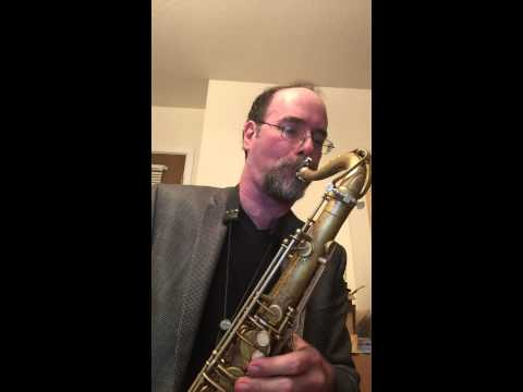 Greg Fishman Plays Lick #44 From Hip Licks For Saxophone