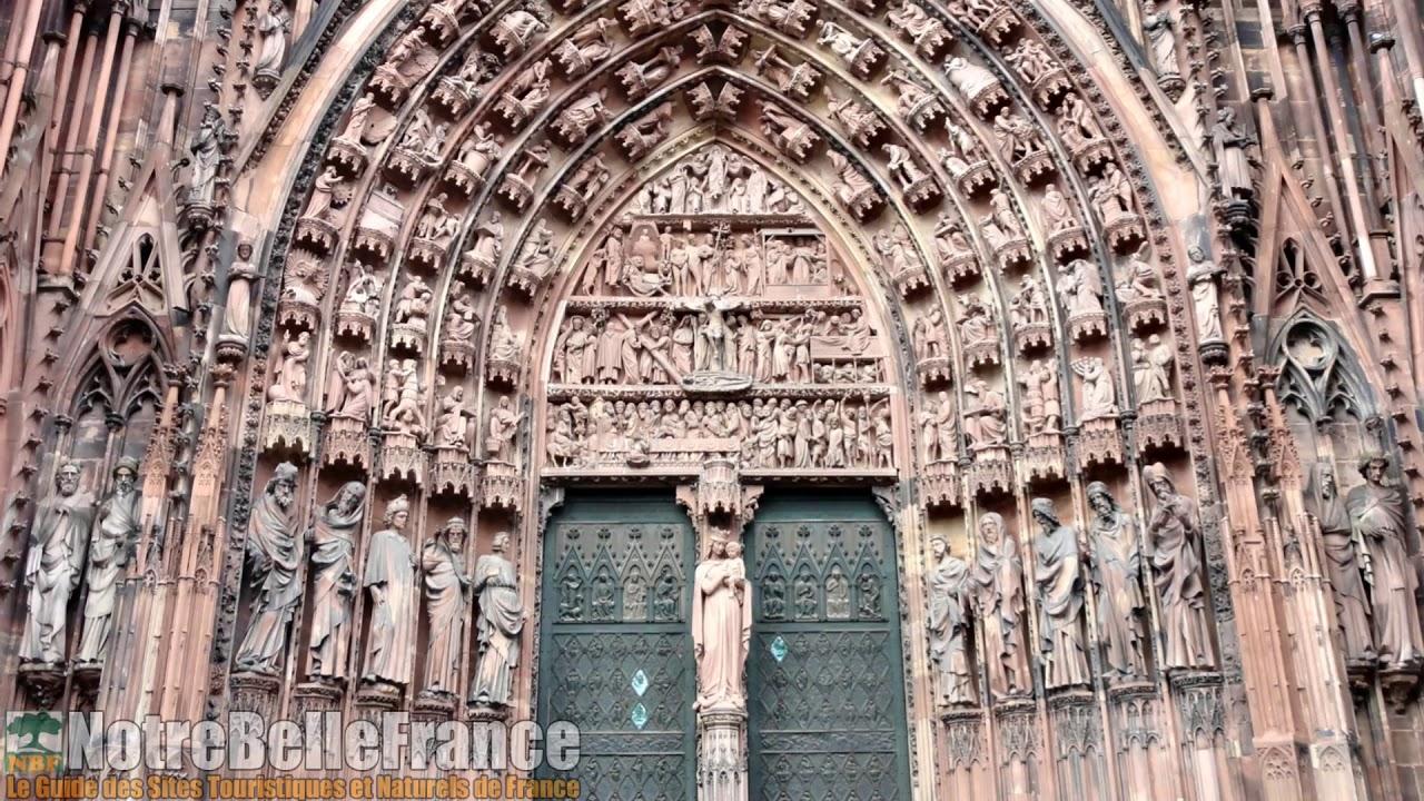 Foyer De L Art Gothique : La cathédrale notre dame de strasbourg chef d œuvre l
