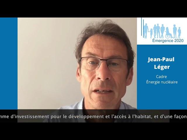 Elections municipales Saint-Georges de Didonne 2020 – Jean-Paul LÉGER – Réalisation Emergence 2020.