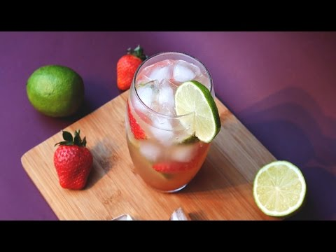 Strawberry & Lime Ginger Ale (Beer) - Non Alcoholic -Treat Factory