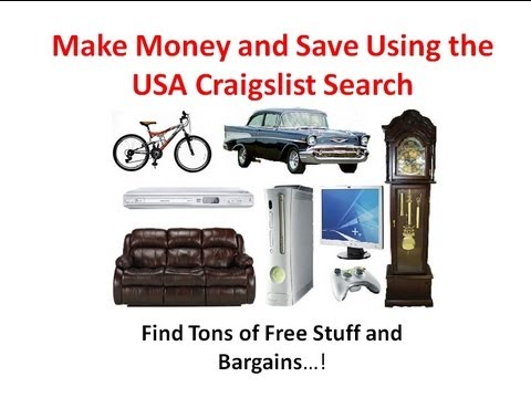 Craigslist Indianapolis Free Stuff >> Make Money and Save Using USA Craigslist Searcher - Get ...