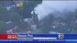 Firefighters Get Fast Handle On Pacific Palisades House Fire