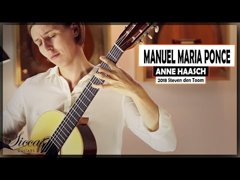 Anne Haasch Plays Manuel Maria Ponce Preludes In F# Minor & A Major On A 2018 Steven Den Toom