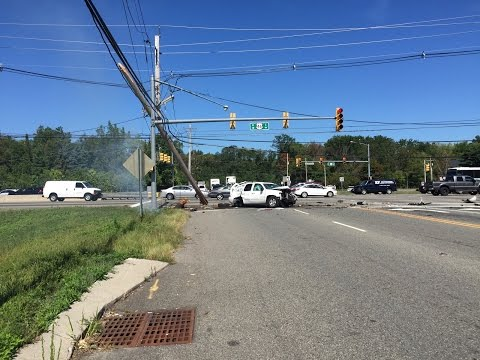 Parsippany NJ Route 46 accident 9/15/2015