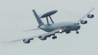 BOEING 707 Approach action - Visual Approach, Touch and Go ... (4k)