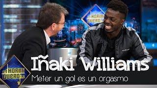 Iñaki Williams confiesa lo que se siente al meter un gol: