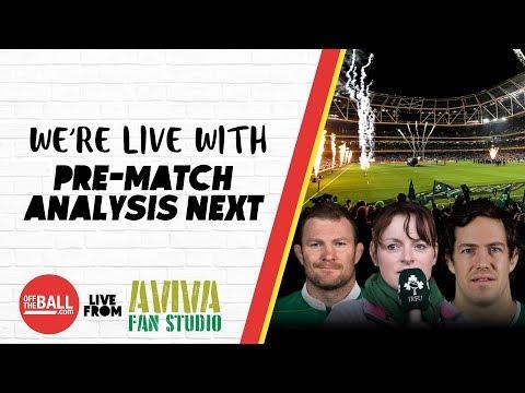 #AvivaFanStudio: Ireland v Italy Pre-Match Build-Up