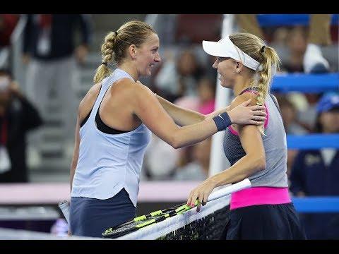 2017 China Open Third Round | Petra Kvitova vs. Caroline Wozniacki | WTA Highlights